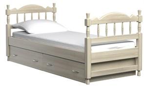 """Детская кровать """"Юниор"""" (Бук)"""