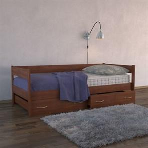 """Кровать """"Тахта с выкатными ящиками"""" (Бук)"""