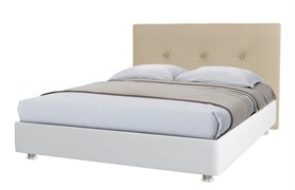 """Кровать """"Уника"""" Цвет белый+бежевый"""