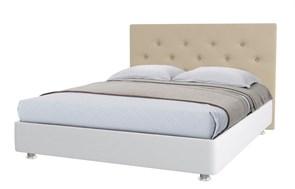 """Кровать """"Лиора"""" Цвет белый+бежевый"""