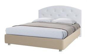"""Кровать """"Шарли"""" Цвет бежевый+белый"""