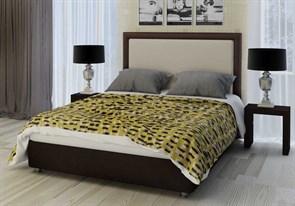 """Кровать """"Selena"""" Цвет венге+бежевый"""
