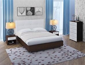 """Кровать """"Тетра Мэйс""""  Цвет Венге+Белый"""